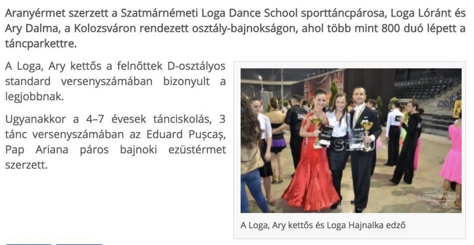 Bajnok a Loga, Ary kettos(frissujsag.ro)