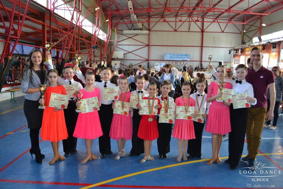 Loga Dance School la Cupa Cetate Ardud