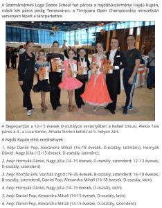 Ket versenyen a tanciskolasok (frissujsag.ro)