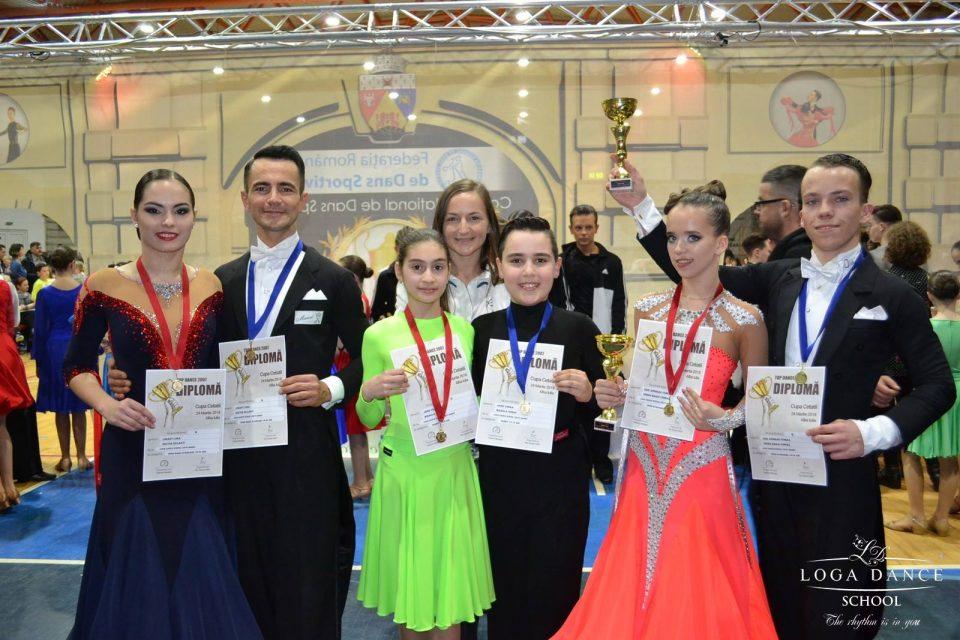 Loga Dance School la Cupa Cetatii