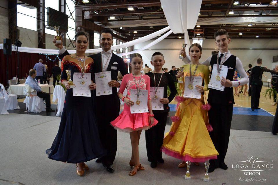 Loga Dance School la Concursul din Nyiregyhaza