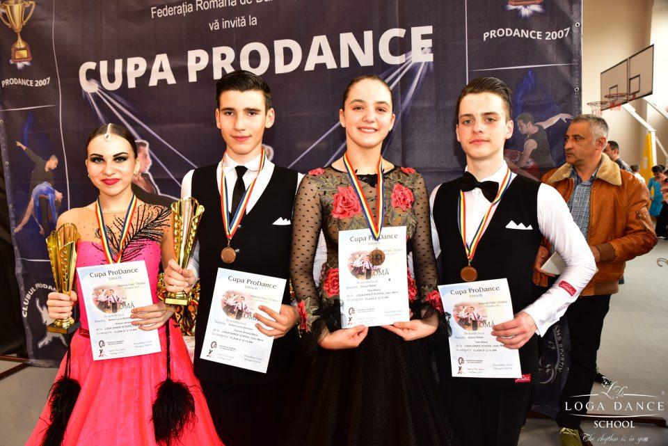 Loga Dance School la Cupa Pro Dance