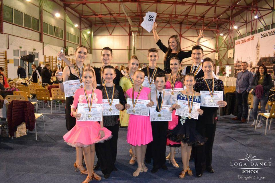 Loga Dance School la Cupa Castanelor
