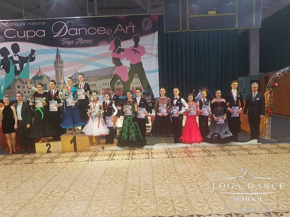 Loga Dance School la Cupa Dance Art