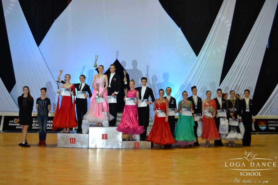 Loga Dance School la WDSF International & Cupa Sportim