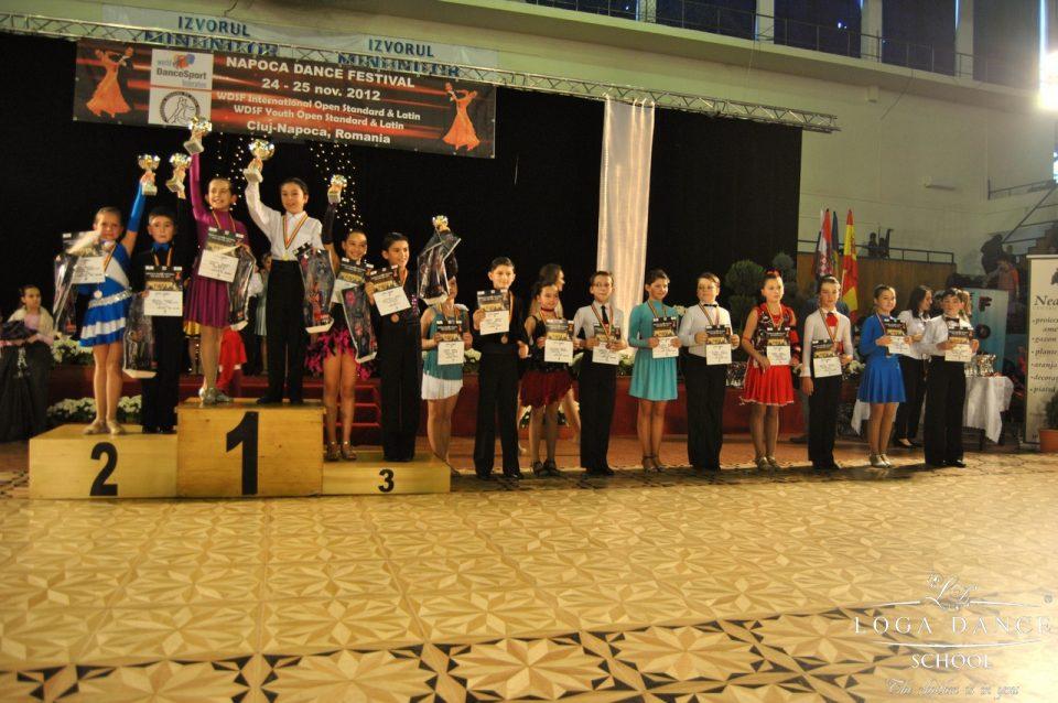 Loga Dance School la WDSF Festival