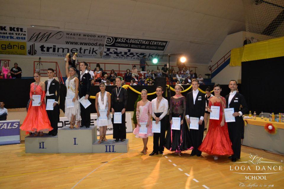 Loga Dance School la Cupa Laszlovill