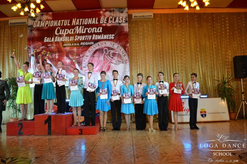 Loga Dance School la Campionatul National de Clase al Romaniei