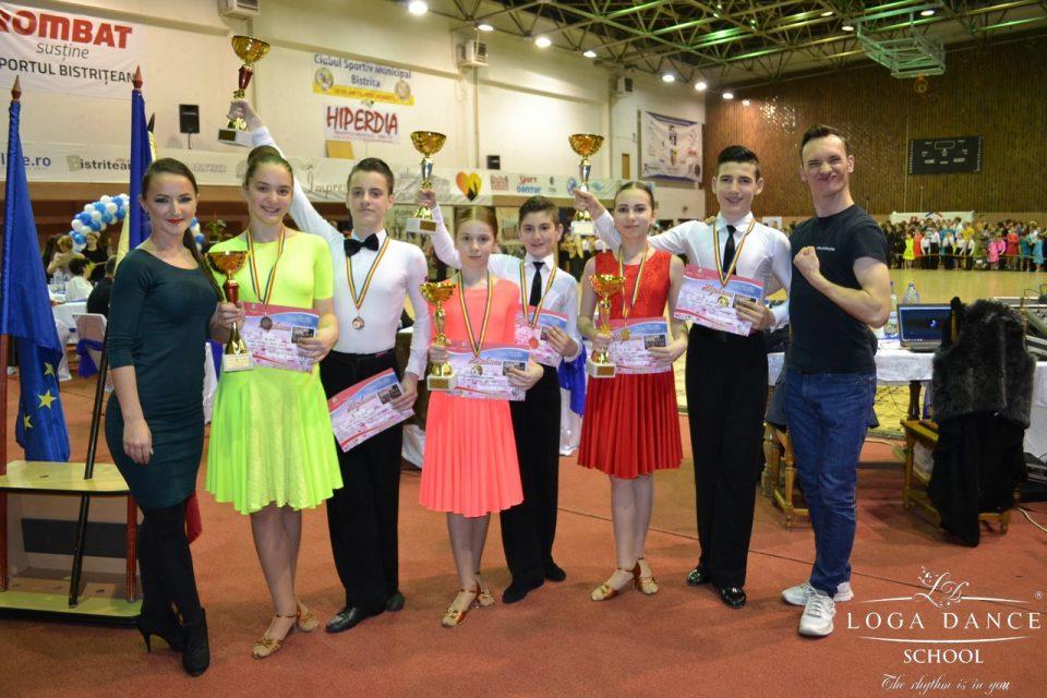 Loga Dance School la Cupa Floris