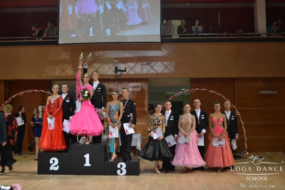 Loga Dance School la Campionatul National al Ungariei