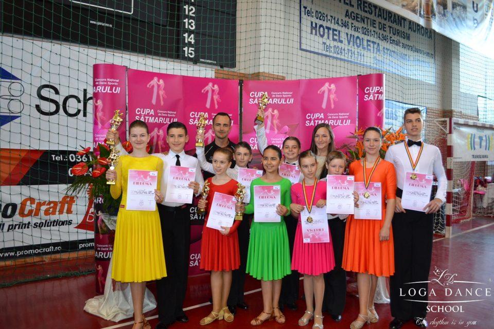 Loga Dance School la Cupa Satmarului