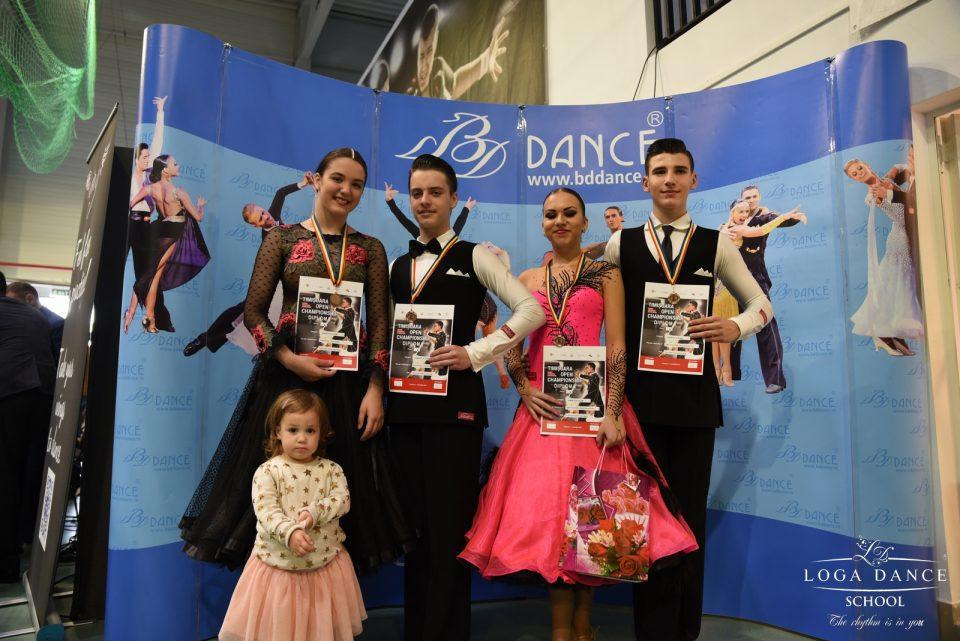 Loga Dance School la Timisoara Open Championship