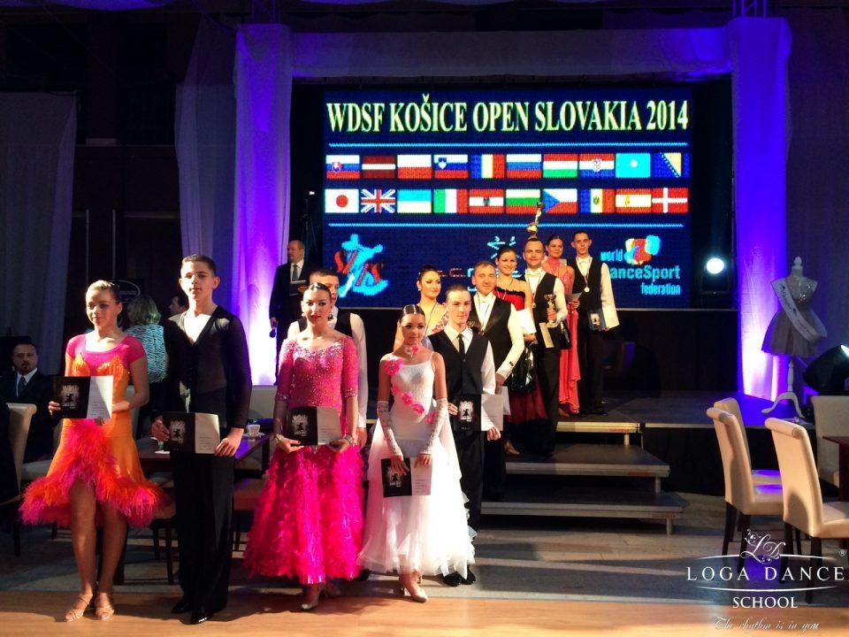 Loga Dance School la WDSF Kosice Open