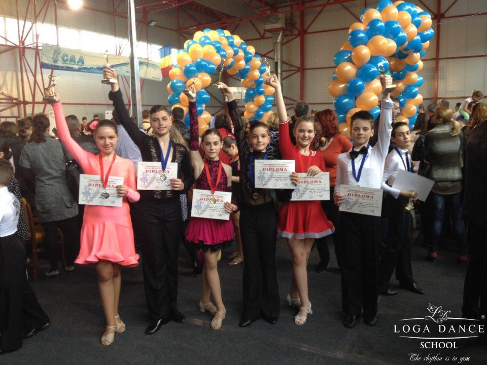 Loga Dance School la Cupa Potaissa