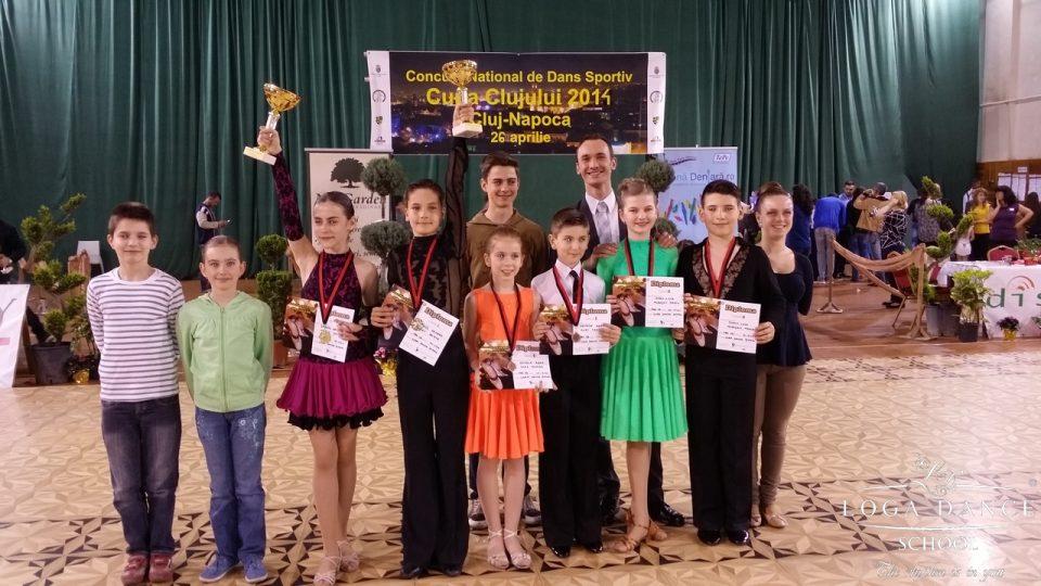 Loga Dance School la Cupa Clujului