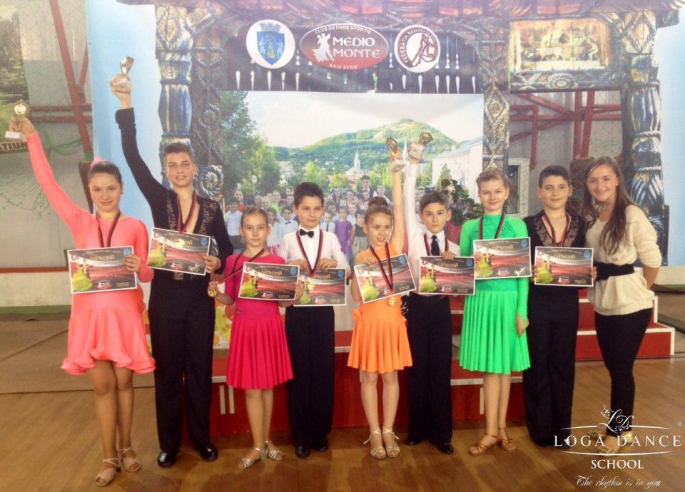 Loga Dance School la Cupa Medio Monte
