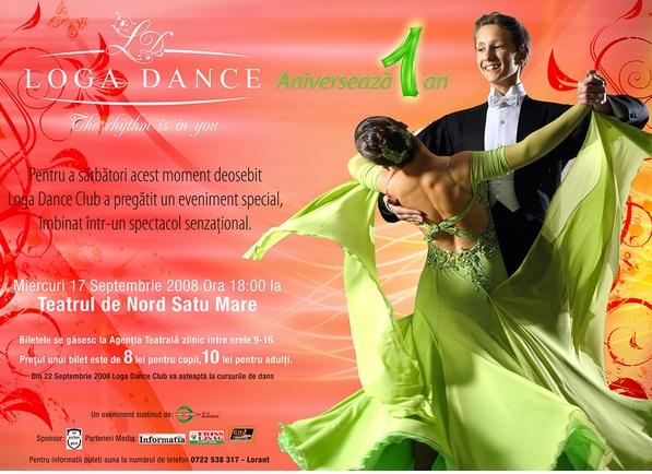 GALA Loga Dance School 2008 - Aniversare 1 An