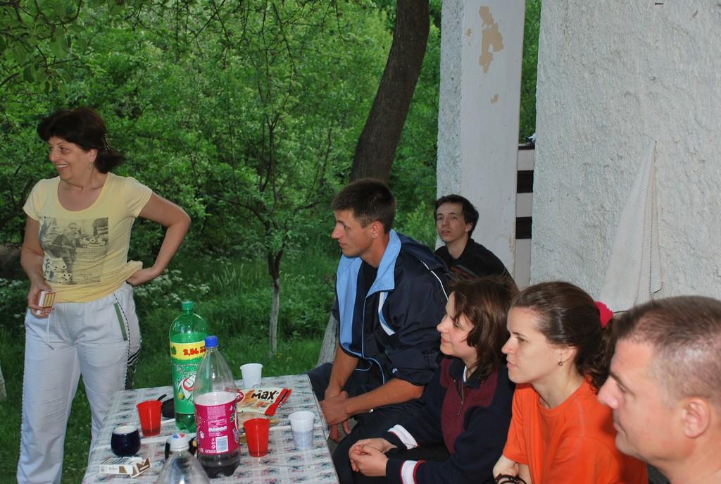 La picknik cu grupa de Intermediari Adulti