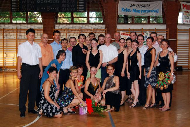 Cantonament - Grupa de Intermediari Adulti - Dans Sportiv