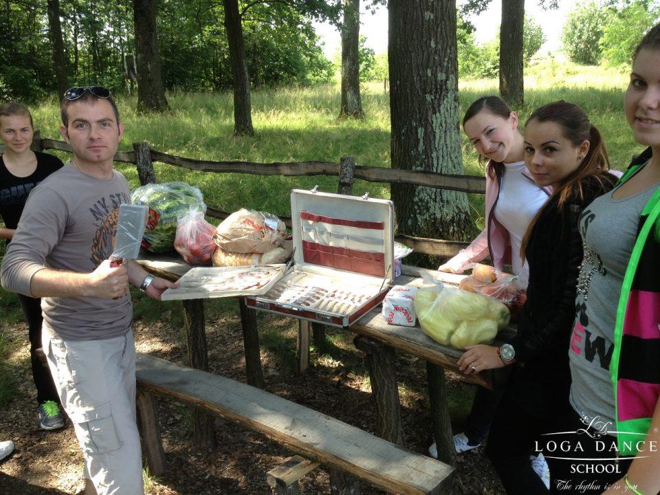 O zi de picnic in Cionchesti
