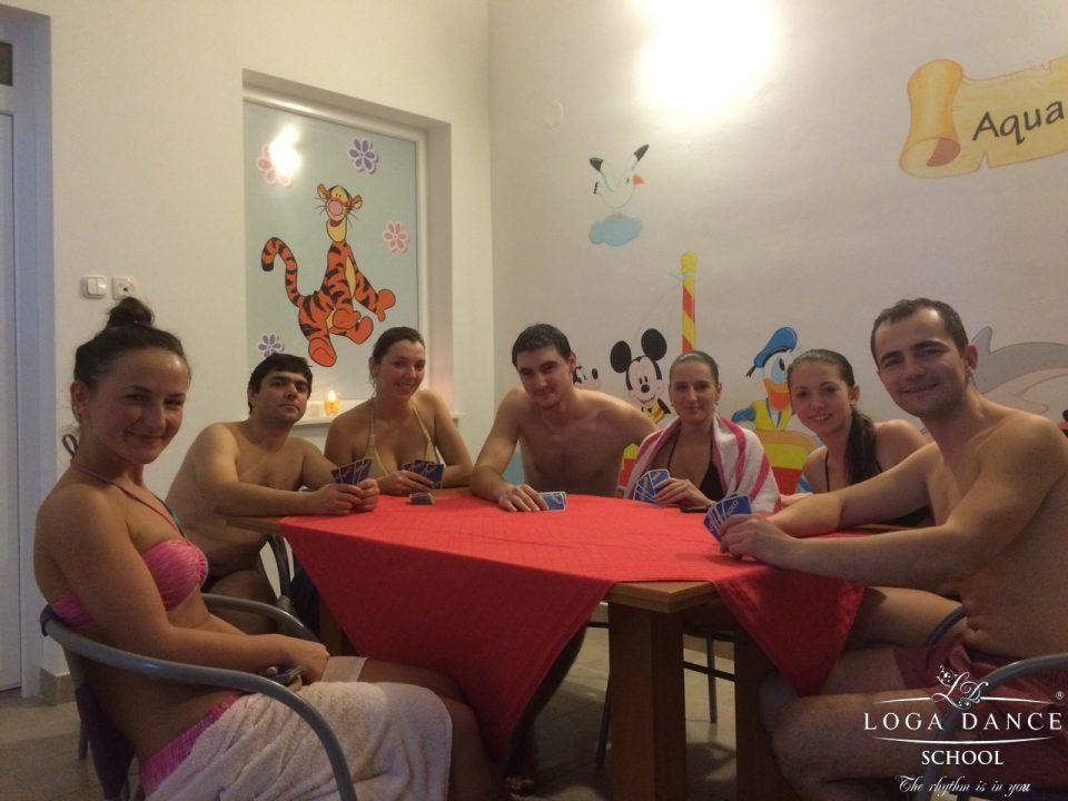 Pool party cu grupa de Intermediari Adulti