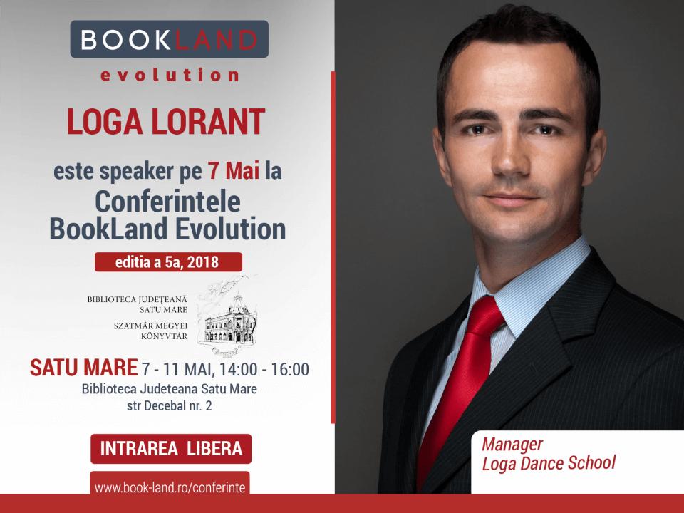 Loga Lorant, speaker la Bookland