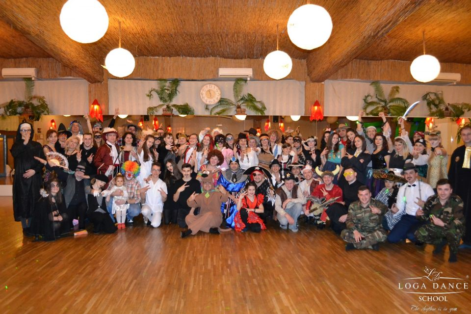 Bal mascat la sala de dans - 2017