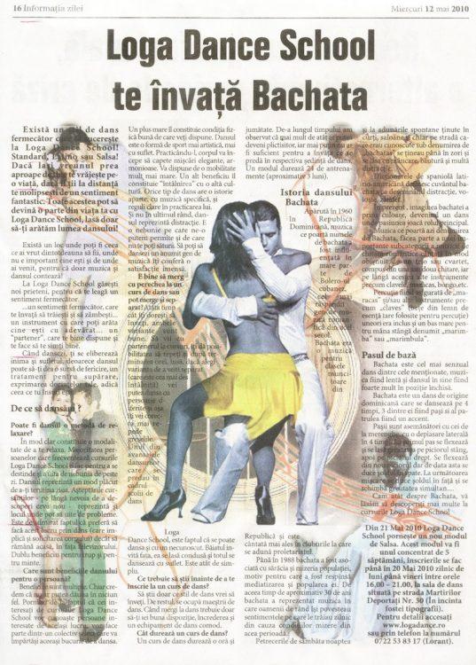 Exista un stil de dans fermecator care te cucereste la Loga Dance School! (Informatia Zilei)