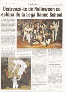 Distreaza-te de Halloween cu echipa de la Loga Dance School (Informatia Zilei)