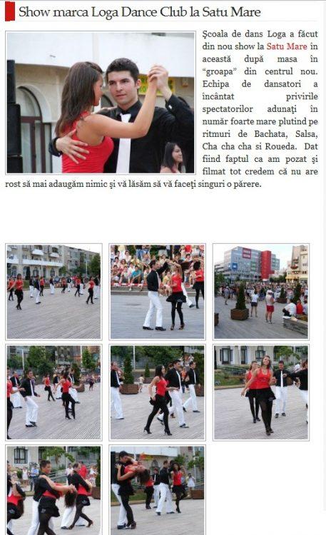 Show marca Loga Dance School (satmareanul.net)