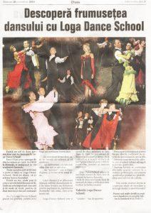 Descopera frumusetea dansului cu Loga Dance School (Informatia Zilei)