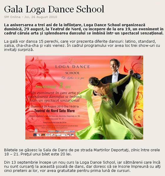 Gala Loga Dance School (satumareonline.ro)