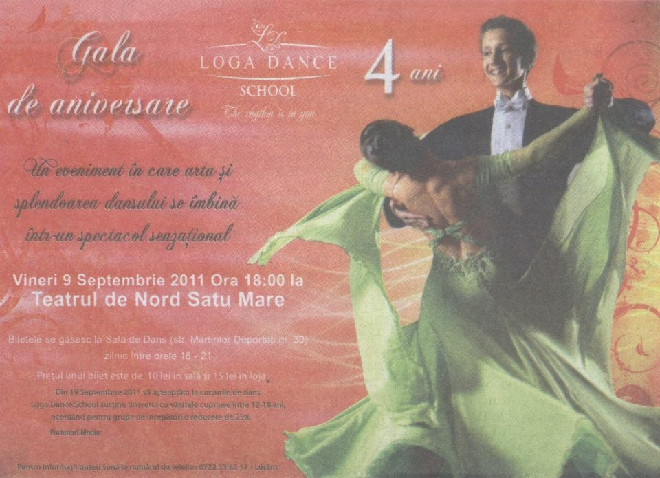 Gala de aniversare Loga Dance School – 4 ani (Informatia Zilei)