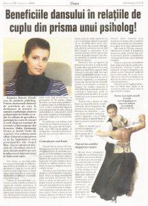 Beneficiile dansului in relatiile de cuplu din prisma unui psiholog! (Informatia Zilei)
