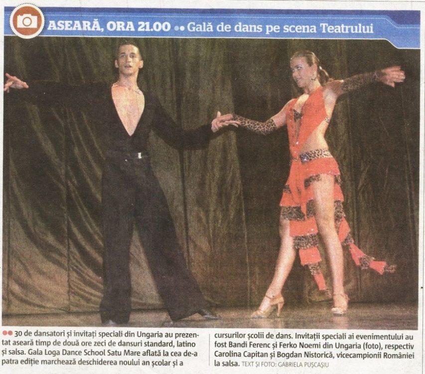 Gala de dans pe scena Teatrului (Adevarul)