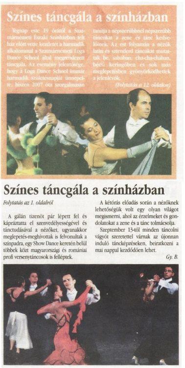 Szines tancgala a szinhazba (Magyar Hirlap)