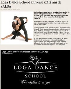 Loga Dance School aniverseaza 2 ani de Salsa (satumareonline.ro)
