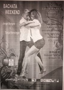 Bachata weekend cu Jorge Burgos & Tanja Kensinger din Florida (Magyar Hirlap)