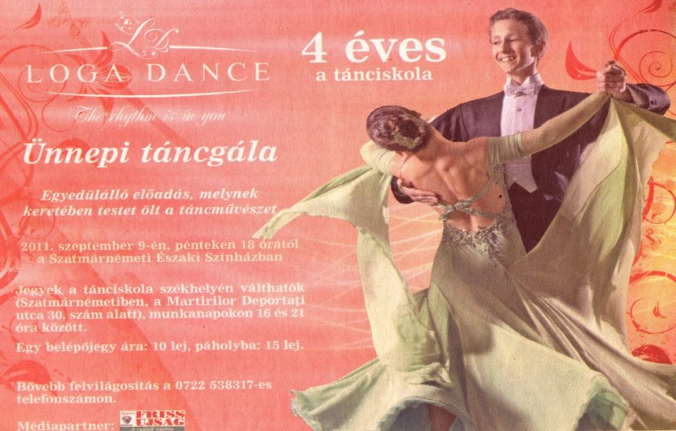 Loga Dance School 4 eves a tanciskola (Friss Ujsag)