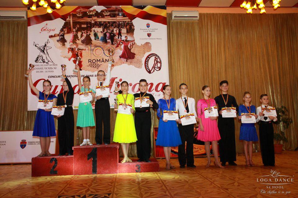 Loga Dance School la Cupa Mirona