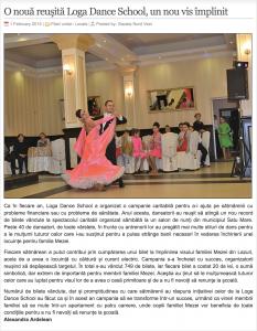 O noua reusita Loga Dance School, un nou vis implinit (gazetanord-vest.ro)