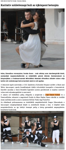 Karitativ szuletesnapi buli az ujkozpont betonjan (szatmar.ro)