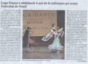 Loga Dance School a sarbatorit 4 ani de la infiintare pe scena Teatrului de Nord (Informatia Zilei)