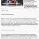 Sambata, la ora 18, Mos Craciun coboara pe tiroliana in fata Redactiei Informatia Zilei (informatia-zilei.ro)
