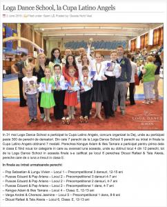 Loga Dance School, la Cupa Latino Angels (gazetanord-vest.ro)