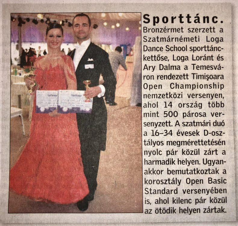 Sporttanc(Friss Ujsag)