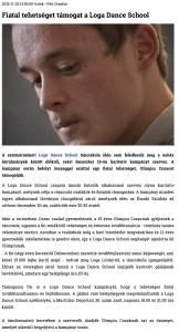 Fiatal tehetseget tamogat a Loga Dance School (szatmar.ro)