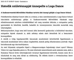 Hatodik szuletesnapjat unnepelte a Loga Dance School (szatmar.ro)