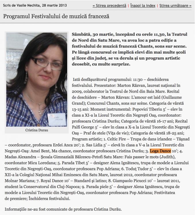 Programul Festivalului de muzica franceza (informatia-zilei.ro)