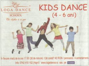 Kids Dance la Loga Dance School (Informatia Zilei)